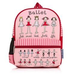 Plecak Średni Pozycje Baletowe