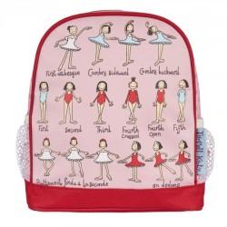 Plecak Mini Pozycje Baletowe
